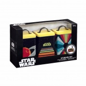 Funko POP! Home - Star Wars Retro: Kitchen Storage: Retro Vehicles