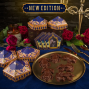Chocolate Frog Mold + 12 Wizard Cards + 6 DIY boxes