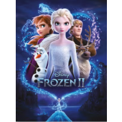 Pyramid Canvas Print - Frozen 2 (Magic) 30 x 40cm
