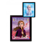 Pyramid 3D Lenticular Poster - Frozen 2 (Sisters) (3 Posters)