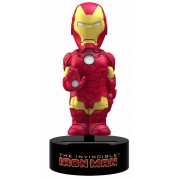Marvel - Iron Man Solar Powered Body Knocker 15cm Bobble Head
