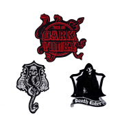 Harry Potter Dark Arts Patches/Crests (pack of 3) - Deluxe Edition