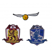 Harry Potter Golden Snitch Patches/Crests (pack of 3) - Deluxe Edition