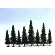 Ziterdes - Model Fir Trees, 170-200 mm (10 Trees)