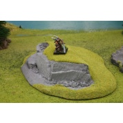 Ziterdes - Hill with Rock Face Tabletop-Terrain
