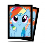 UP - Standard Sleeves - My Little Pony - Rainbow Dash (65 Sleeves)