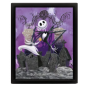 Pyramid 3D Lenticular Poster - Nightmare Before Christmas (Graveyard) (3 Posters)