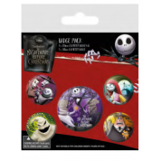 Pyramid Badge Packs - Nightmare Before Christmas (Characters)