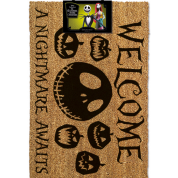 Pyramid Door Mats - Nightmare Before Christmas (A Nightmare Awaits)