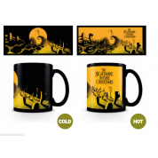 Pyramid Heat Changing Mugs - Nightmare Before Christmas (Graveyard Scene)