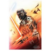 Pyramid Maxi Poster - Star Wars: The Rise of Skywalker (Kylo Ren) (5 Posters)