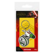 Pyramid Rubber Keychains - Star Wars: The Rise of Skywalker (D-O)