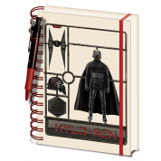 Pyramid A5 Wiro Notebook and Pen - Star Wars: The Rise of Skywalker (Kylo Ren Model)