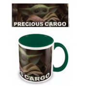 Pyramid Coloured Inner Mugs - Star Wars: The Mandalorian (Precious Cargo) Green