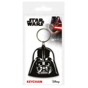 Pyramid Rubber Keychains - Star Wars (Darth Vader)