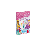 Disney Prinzessin - Quartett 4 in 1 - DE
