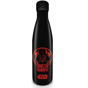 Pyramid Metal Drinks Bottles - Star Wars (Darth Vader)