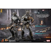 Avengers: The Movie - Chitauri Footsoldier and Commander - Set of 2 - 12-inch Action Figures (Resealed packaging)