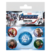 Pyramid Badge Packs - Avengers: Endgame (Quantum Realm Suits)