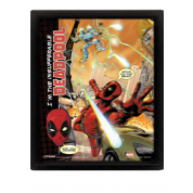 Pyramid 3D Lenticular Poster - Deadpool (Attack) (3 Posters)