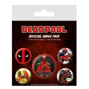 Pyramid Badge Packs - Deadpool (Outta The Way)