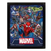 Pyramid 3D Lenticular Poster - Marvel (Cinematic Icons) (3 Posters)