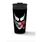 Pyramid Metal Travel Mugs - Venom (Face)
