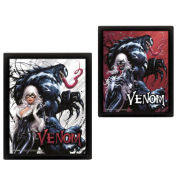 Pyramid 3D Lenticular Poster - Venom (Teeth And Claws) (3 Posters)
