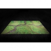 "Kraken Wargames Gaming Mat - River Valley 44""x30"" 2.0"