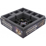 Feldherr foam tray set for Mansions of Madness 2nd Edition: Horrific Journeys - board game box