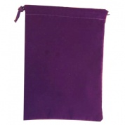 Chessex Small Suedecloth Dice Bags Royal Purple