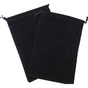 Chessex Small Suedecloth Dice Bags Black