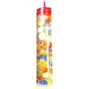 Chessex Gaming Glass Stones in Tube - Assorted Catseye (40)
