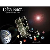 Chessex Dice Boot: Portable Dice Rolling Tower