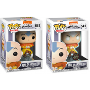 Funko POP! Avatar - Aang on Air Bubble w/ Glow Chase Vinyl Figure 10cm Assortment (5+1 chase figure)