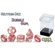 Neutron Dice Rose Quartz (7 Dice Set)