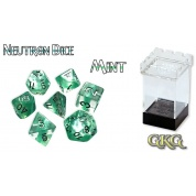 Neutron Dice Mint (7 Dice Set)