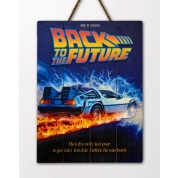 Back to the future Wooden Poster 1