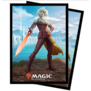 UP - Standard Deck Protectors - Magic: The Gathering Zendikar V2 (100 Sleeves)