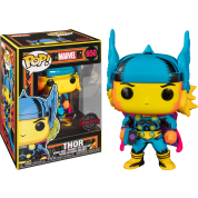 Funko POP! Marvel Black Light Thor Vinyl Figure 10cm Target Exclusive