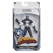 Hasbro Marvel Legends Series 6-inch Collectible Venomized Captain America Action Figure Toy, Premium Design and 2 Accessories