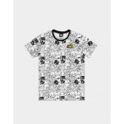 Nintendo - Super Mario AOP Villain Men's T-shirt