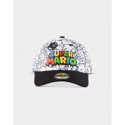 Nintendo - Super Mario Villains AOP Adjustable Cap