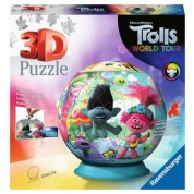 Ravensburger Kinderpuzzle - Trolls World Tour 3D Puzzle