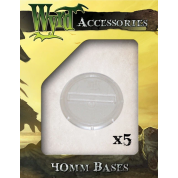 Clear 40mm Translucent Bases (5 pack)