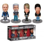 Funko Wacky Wobblers - Sons Of Anarchy 4-Pack Mini Bobble Heads 7,5cm