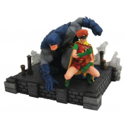 DC Gallery Dark Knight Returns Batman and Carrie DLX PVC Figure
