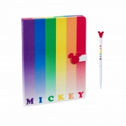 Funko POP! Home - Notebook and Pen Mickey Rainbow