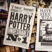 Harry Potter - The Daily Prophet Harry Potter Undesirable No. 1 Tea Towel