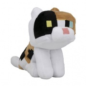Minecraft Happy Explorer Calico Cat Plush